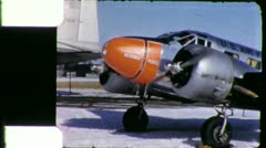 US Air Force Cargo Military Plane 1950 (Vintage Retro Film Home Movie) 5893 Arkistovideo
