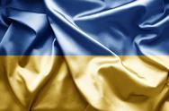 Flag of ukraine Stock Illustration