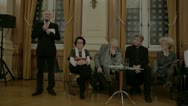 Stock Video Footage of Gay Marriage Debate, Christophe Girard, Mairie du 4e, Christine Boutin,  3