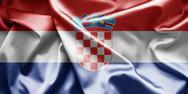 Flag of croatia Stock Illustration