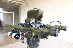 RED SKY-2 Compact Air Defense Missile System launcher - stock photo