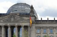 Stock Photo of german parliament detail