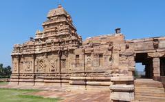 Stock Photo of temple at pattadakal