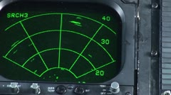 Coast Guard Jayhawk instrument panel Stock Footage