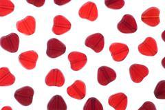 heart beads - stock photo