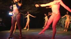 Salsashow, Cabaret Cueva del Pirata Stock Footage
