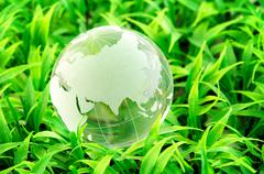 environment and conservation - stock photo