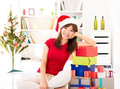 christmas preparation - stock photo