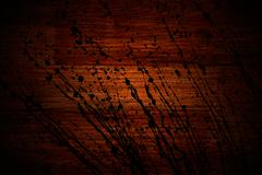 grunge old cherry parquet texture - stock photo