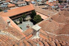 monastery - stock photo