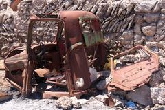Rusty truck Stock Photos