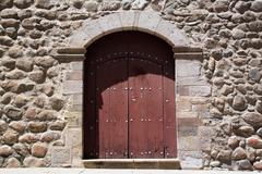 Stock Photo of wall and door