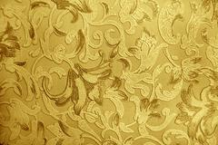 Retro luxury floral engraving wallpaper Stock Photos