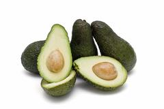 avocados for lunch. - stock photo