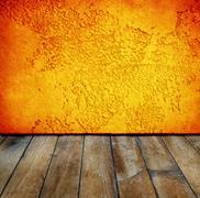 amber room - stock illustration
