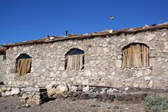 long house - stock photo