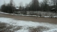 Stock Video Footage of Rural Road
