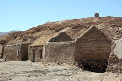 Stock Photo of brick houses