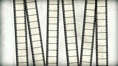 Movie clapper board. Old film background Stock Footage