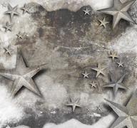 Stock Illustration of vintage old star background