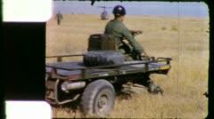 Paratroopers FRONTLINE TROOPS 1960s (Vintage Film Retro Home Movie) 5925 Stock Footage