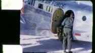 Stock Video Footage of US AIR FORCE Pilot Soldier Military Plane 1950s (Vintage Film Home Movie) 5927