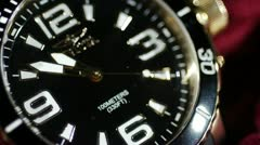 Wrist Watch Timelapse Stock Footage