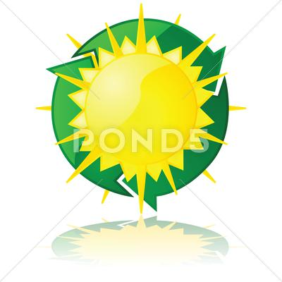 Stock Illustration of solar power