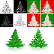 Stock Illustration of christmas trees