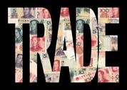 Trade with chinese currency Stock Illustration