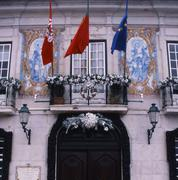 portugal government building - stock photo