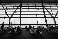 Stock Photo of pudong airport