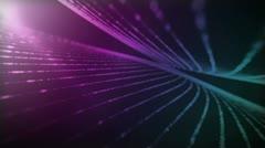 Evolver Purple Blue - stock footage