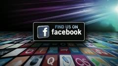 Facebook Invite 1 Stock Footage