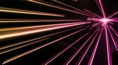 Fast Vortex Pink Yellow - stock footage