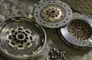 Car clutch components Stock Photos