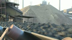 Coal mining Stock Footage