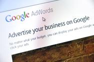 Stock Photo of google adwords