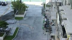 Balcony Construction in Miami Stock Footage