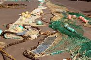 Fishnets Stock Photos
