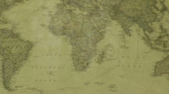 South africa's position in the world Stock Footage