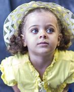 Cute little girl Stock Photos
