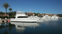 Marina in Sotogrande, Spain Stock Footage