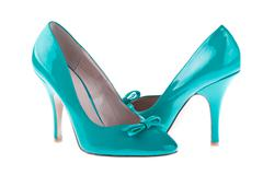 Stock Photo of pair women's shoes