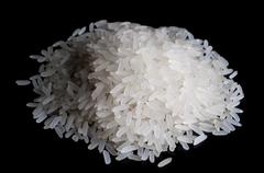 A handful of rice Stock Photos