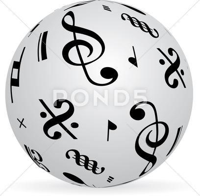 Stock Illustration of Music world.jpg