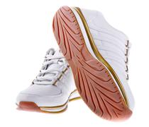 pair of men's athletic shoes - stock photo