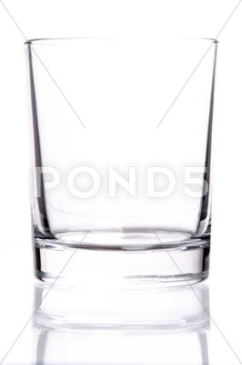 Stock photo of empty glass
