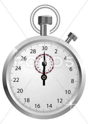 Stock Illustration of vector stopwatch