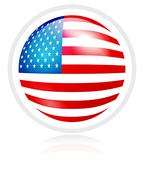 flag of usa - stock illustration